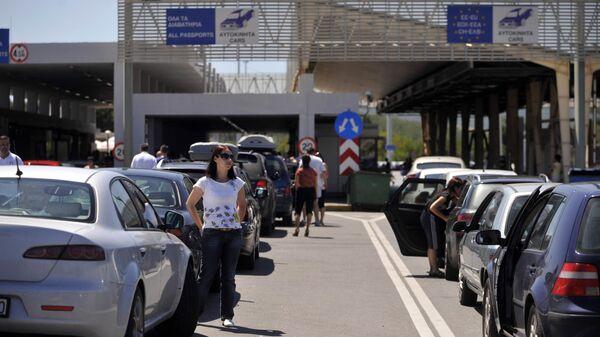 Grčki granični prelaz Evzoni - Sputnik Srbija