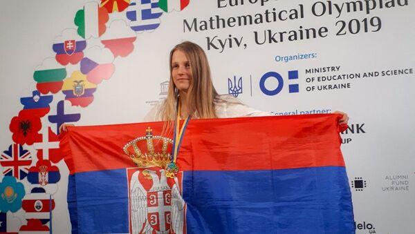 Јелена Иванчић, млада математичарка - Sputnik Србија