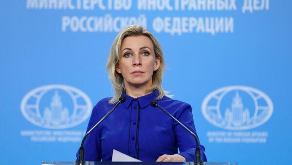 Portparoka Ministarstva spoljnih poslova Rusije Marija Zaharova - Sputnik Srbija