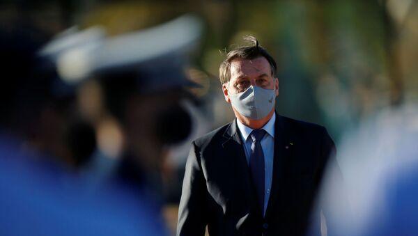 Бразилски председник Жаир Болсонаро - Sputnik Србија