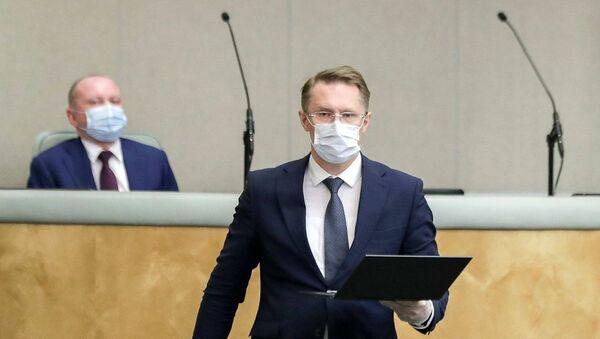 Ruski ministar: Vakcinacija na dobrovoljnoj bazi, ali pristalica sve više - Sputnik Srbija