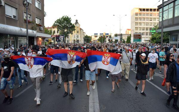 Protesti u Nišu - Sputnik Srbija
