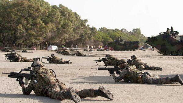 Војници НАТО на војним вежбама у источној Европи - Sputnik Србија