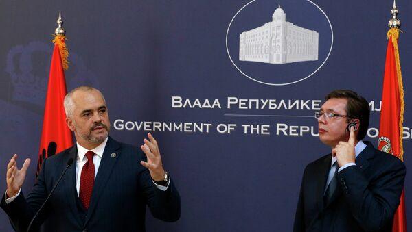 Edi Rama i Aleksandar Vučić - Sputnik Srbija