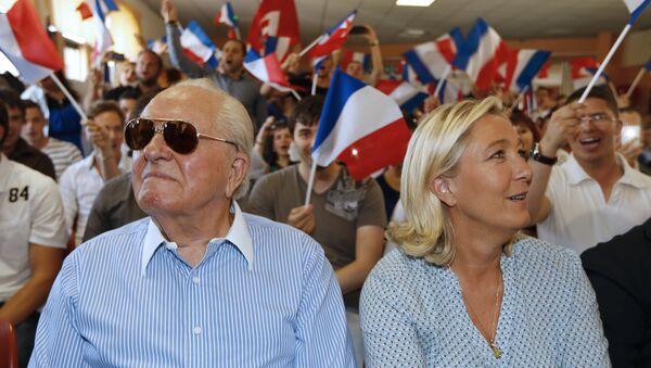 Žan-Mari le Pen i Marin le Pen - Sputnik Srbija