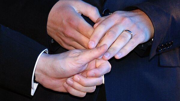 Геј брак (илустрација) - Sputnik Србија