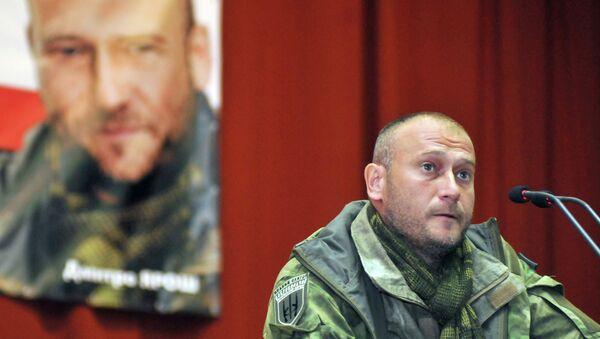 Vođa Desnog sektora Dmitrij Jaroš - Sputnik Srbija