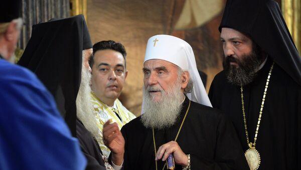 Његова светост патријарх српски Иринеј - Sputnik Србија