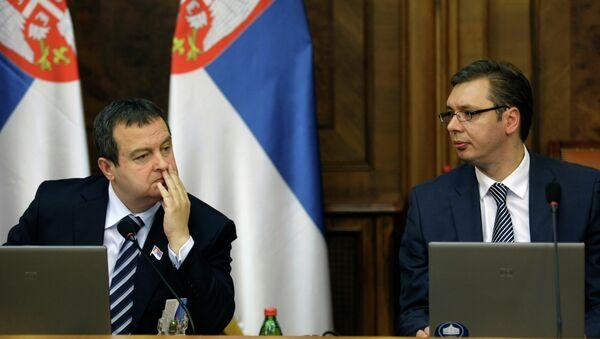 Aleksandar Vučić i Ivica Dačić - Sputnik Srbija