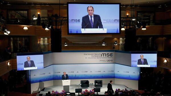 Sergej Lavrov na Minhenskoj konferenciji o bezbednosti - Sputnik Srbija