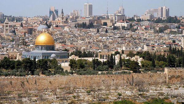 Pogled na Jerusalim sa Maslinove gore - Sputnik Srbija
