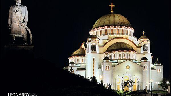 Hram Svetog Save - Sputnik Srbija