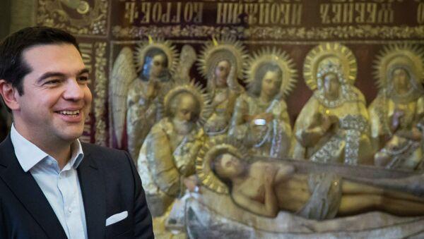 Премијер Грчке Алексис Ципрас у Москви, Ускрс 2015. - Sputnik Србија