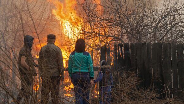 Požar u Sibiru - Sputnik Srbija