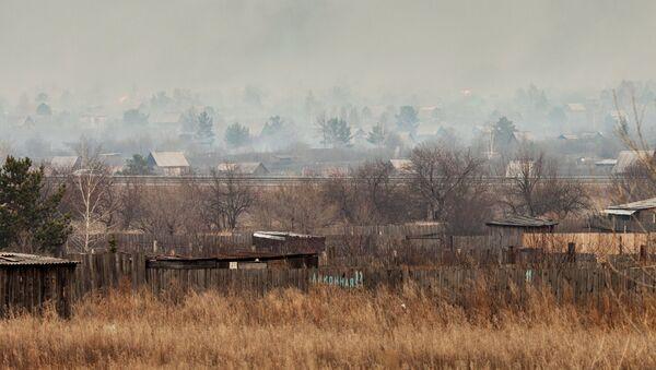 дим у сеоском подручју - Sputnik Србија