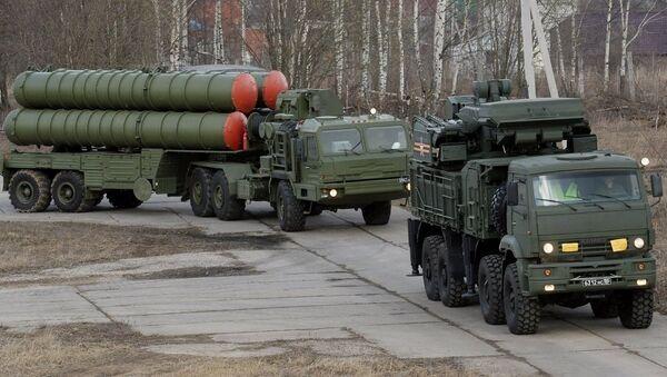 Sistem protivvazdušne odbrane S-400. - Sputnik Srbija