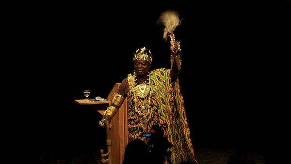 Afrički kralj Togbe Ngorifija Kosi Bansah - Sputnik Srbija