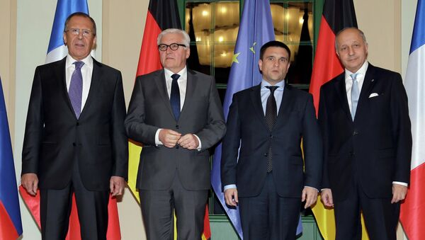 Normandijska četvorka, ministri spoljnih poslova - Sputnik Srbija
