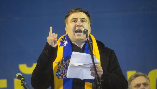 Bivši prdsednik Gruzije Mihail Sakašvili - Sputnik Srbija