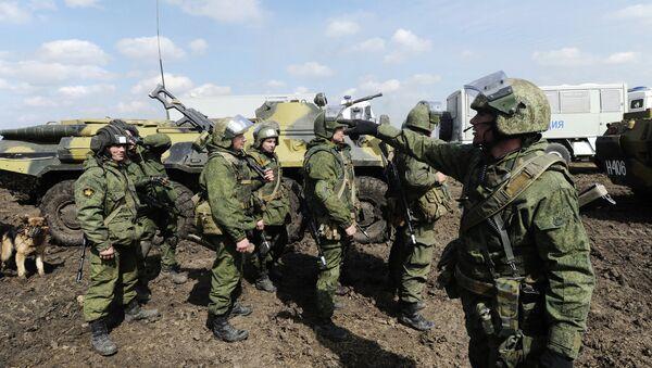 Vojne vežbe ruskih padobranaca u Rostovskoj oblasti. - Sputnik Srbija