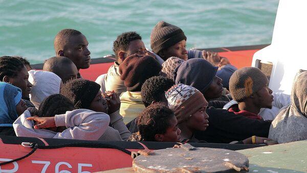 Имигранти из Либије - Sputnik Србија