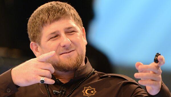 Ramzan Kadirov - Sputnik Srbija