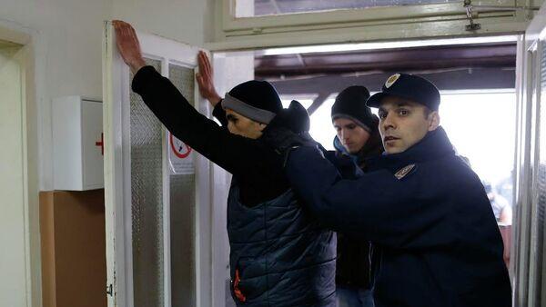 Uhapšeni Albanci - Sputnik Srbija