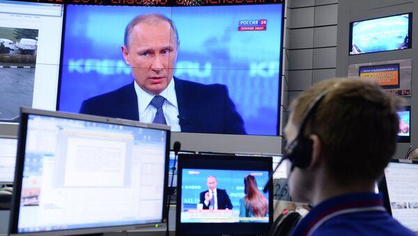 Direktna linija sa Vladimirom Putinom - Sputnik Srbija
