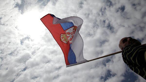 Вијори се српска застава - Sputnik Србија