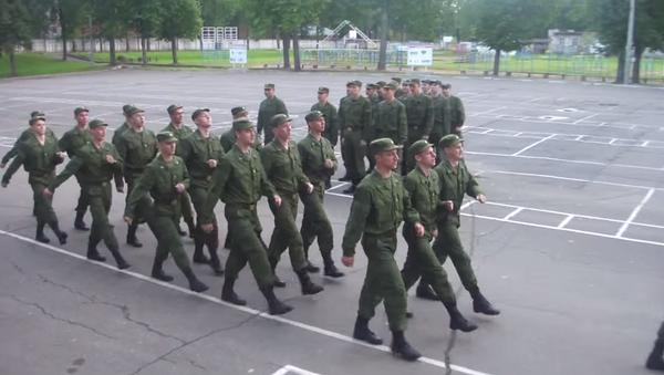 Руска војска маршира - Sputnik Србија
