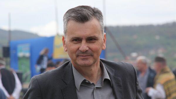 Милан Стаматовић , председник општине Чајетина - Sputnik Србија