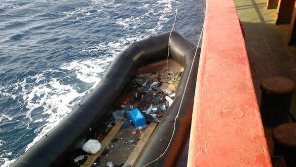 Имигранти у Средоземном мору - Sputnik Србија