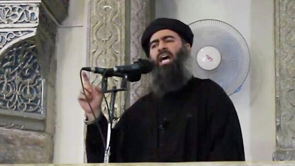 Vođa Islamske države Abu Bakr el Bagdadi - Sputnik Srbija