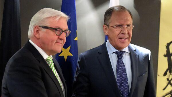 Frank-Valter Štajnmajer i Sergej Lavrov na Minhenskoj konferenciji o bezbednosti - Sputnik Srbija