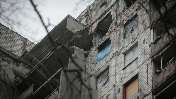 Последице гранатирања Доњецка - Sputnik Србија