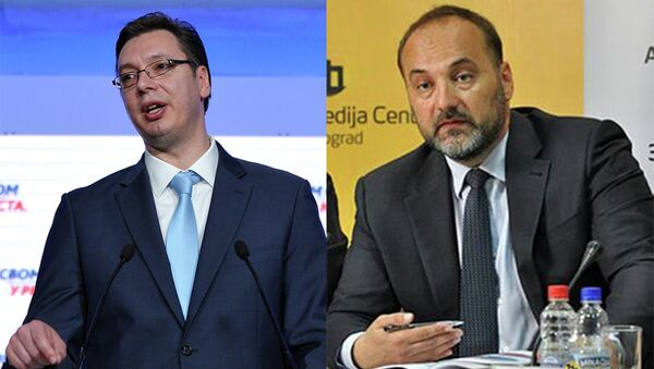 Aleksandar Vučić i Saša Janković - Sputnik Srbija