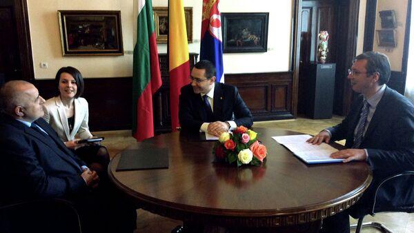 Aleksandar Vučić u službenoj poseti Rumuniji - Sputnik Srbija