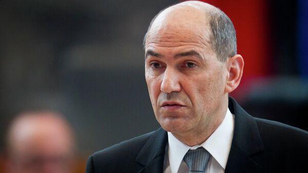 Bivši slovenački premijer Janez Janša - Sputnik Srbija