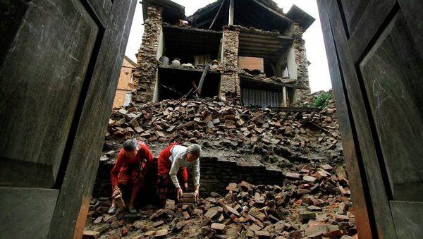 Nepal, zamljotres - Sputnik Srbija