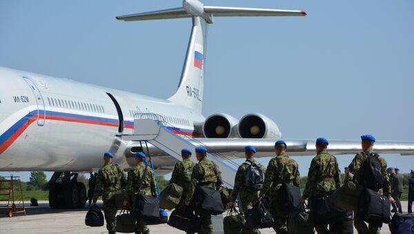 Српска војска креће на параду у Москву - Sputnik Србија