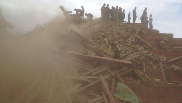 Zemljotres na Nepalu - Sputnik Srbija