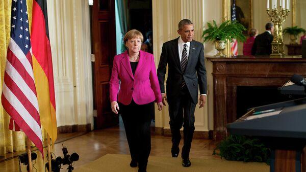 Angela Merkel i Barak Obama - Sputnik Srbija