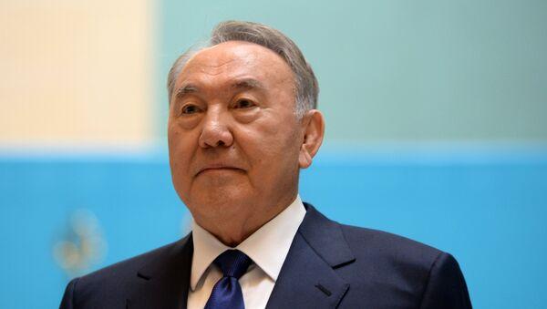 Nursultan Nazarbajev, predsednik Kazahstana - Sputnik Srbija