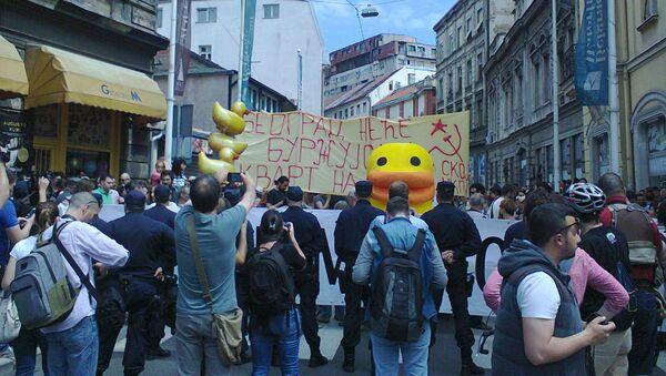 Protest - Sputnik Srbija