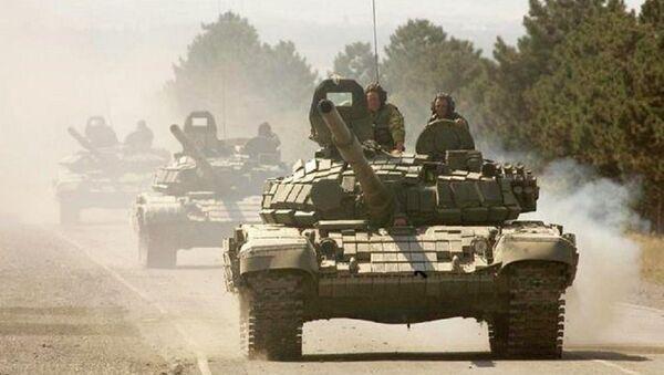 Руски тенкови - Sputnik Србија