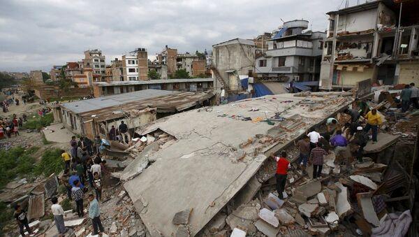 Земљотрес у Непалу - Sputnik Србија