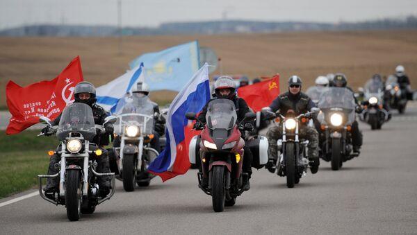 Noćni vukovi, motociklistički klub - Sputnik Srbija