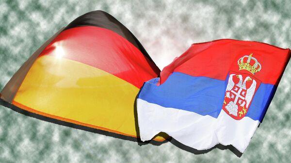 Заставе Немачке и Србије - Sputnik Србија