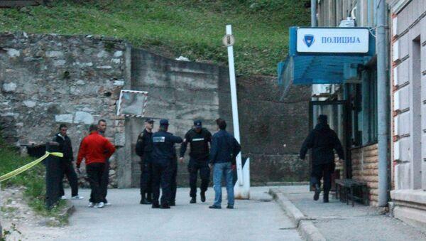 Место убиства - Полицијска станица у Зворнику - Sputnik Србија