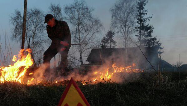Požar u Černobilju - Sputnik Srbija